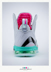 nike lebron 9 ps elite grey candy pink 9 18 sneakerbox LeBron 9 P.S. Elite Miami Vice Official Images & Release Date