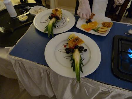 Hotel Grand Continental Bucuresti: desert cu ananas