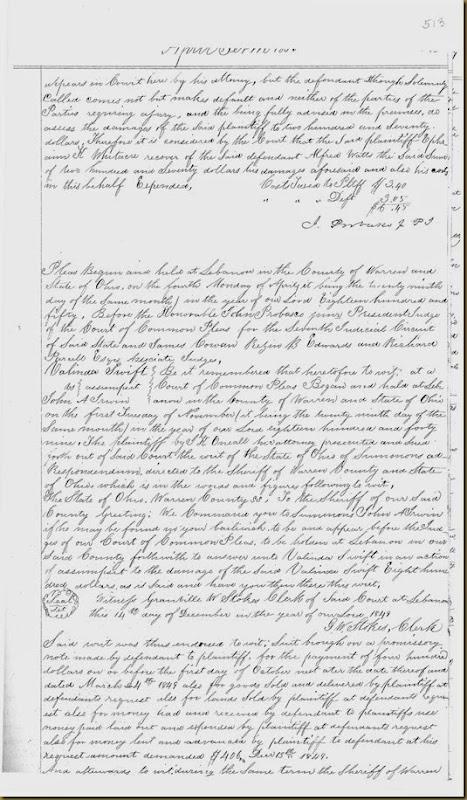 John A Irwin sue by Valinda Swift April Term 1850_0002