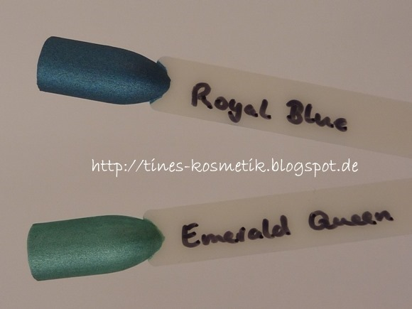 Catrice Rocking Royals Swatches 6