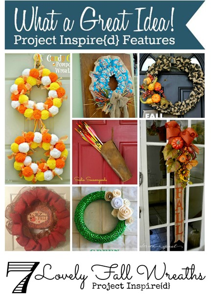 Seven Lovely Fall Wreaths - Project Inspire{d}
