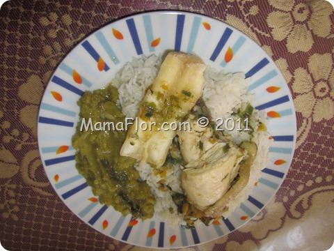 Como preparar un seco de pollo a lo criollo