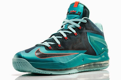 nike lebron 11 low gr nightshade 2 04 Nike Max LeBron XI Low Turbo Green Release Information