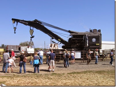 IMG_4973 1927 Bucyrus-Erie 160-Ton Steam Railway Derrick Crane SPMW #7020 at Antique Powerland in Brooks, Oregon on July 31, 2010