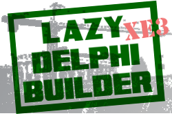 Lazy Delphi Builder XE3 Logo