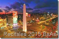 recitales en Buenos Aires 2015
