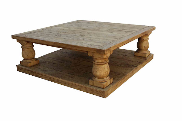 Reclaimed Wood Coffee Table Rustic Finish Reclaimed Wood Coffee Table