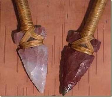 Flechas de pedra