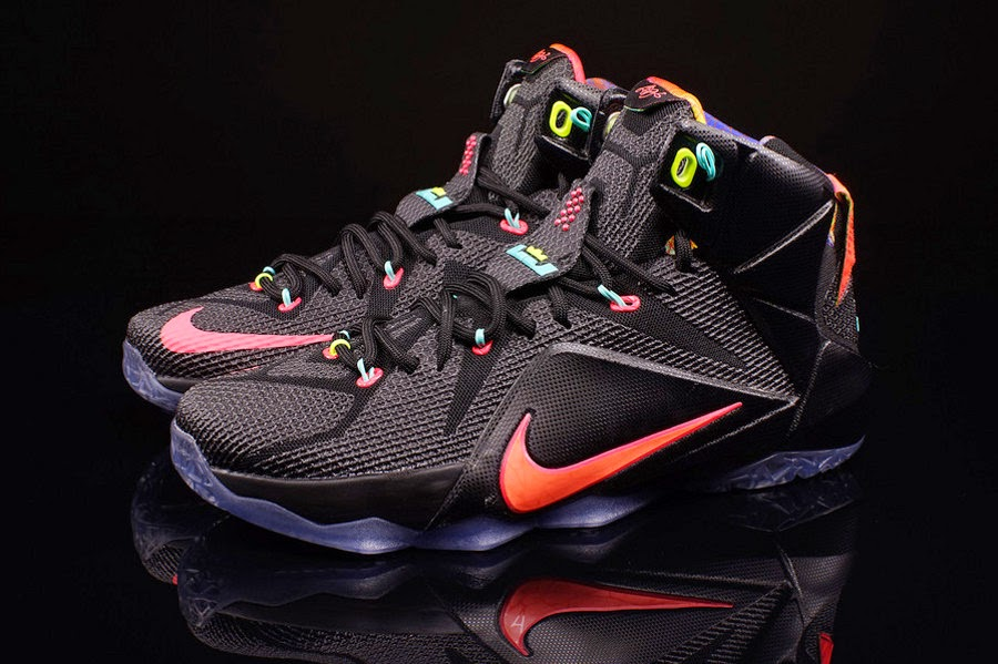 "Nike LeBron 12 Low ""Fishing Scales"" Available in Kids' Sizes ..."