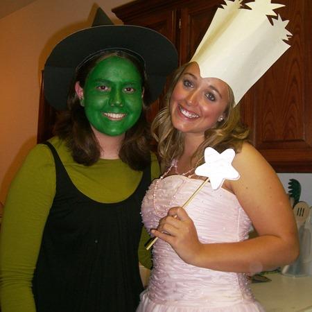Elphaba and Glinda