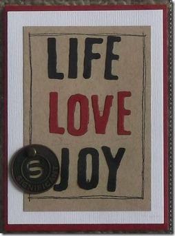 life love joy