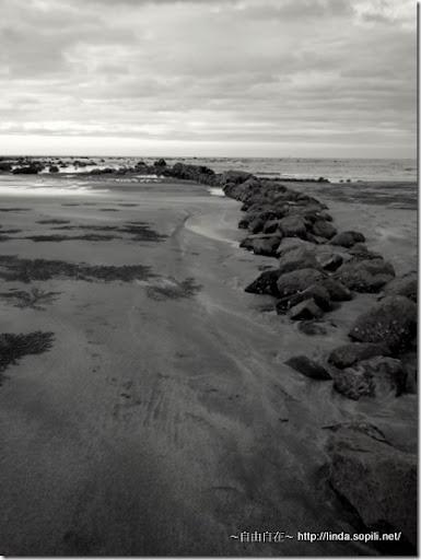 沙崙海水浴場-石滬
