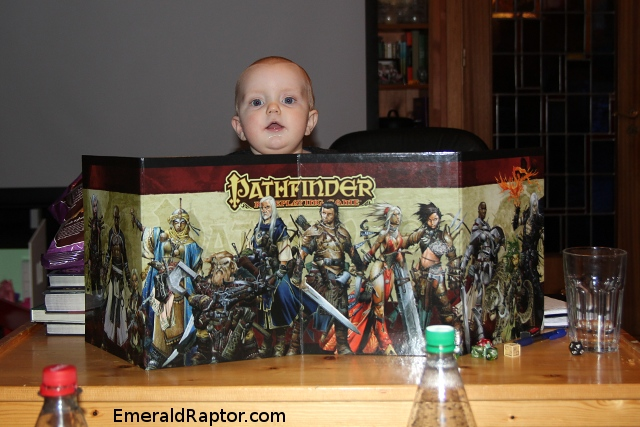 Baby Game Master Pathfinder