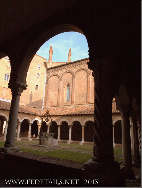 Chiostro San Romano 2/3, Ferrara, Emilia Romagna, Italia - Cloister of San Romano 2/3, Ferrara, Emilia Romagna, Italy - Property and Copyrights of FEdetails.net