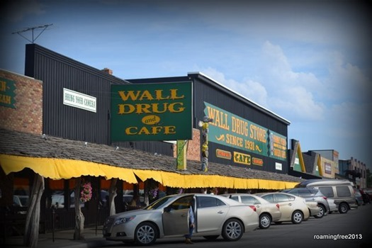 We found Wall Drug!