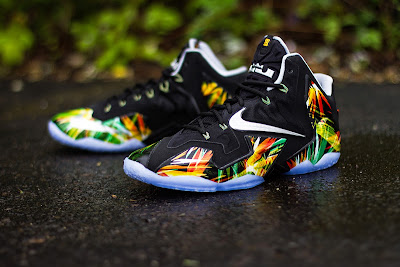 nike lebron 11 gr everglades 5 05 Release Reminder: Nike LeBron XI Everglades Goes Into the Wild