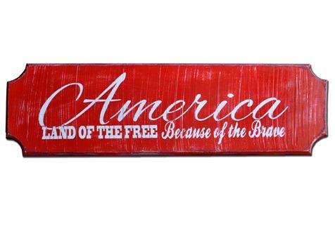 America Plaque