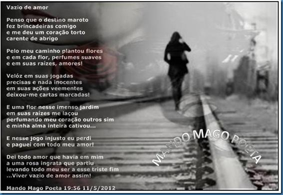 VAZIO DE AMOR CARD
