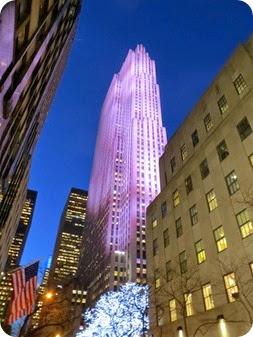 Rockefeller Tree and Christmas Lights