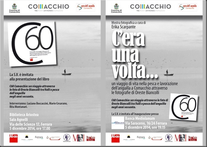 C60 Comacchio: un viaggio attraverso le foto di Oreste Biancolli tra valli e pesca dell'anguilla negli anni Sessanta