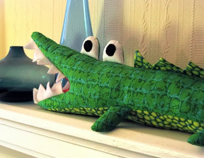 an alligator plush for my nephew