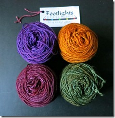Blue Ridge Yarns - Footlights - Pansies