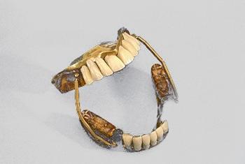 Sheva Apelbaum 19th century dentures