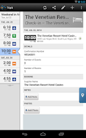 Screenshot of TripIt Travel Organizer No Ads