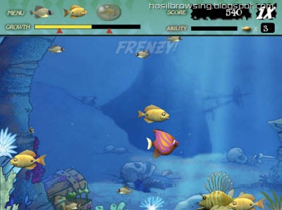 feeding frenzy screenshot 2