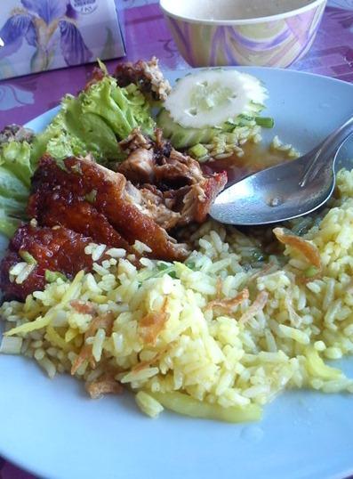nasi ayam padang besar