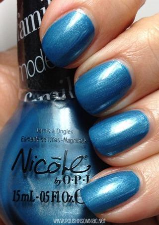 Nicole by OPI Late Blu-mer