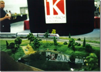 04 SOME Alumni Modular Layout at Train Fest in November 2002