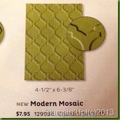 modern mosiac catalog