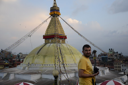 Razvan Marc in Kathmandu, Nepal