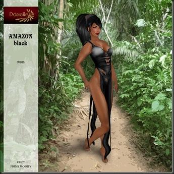 DANIELLE Amazon Black'