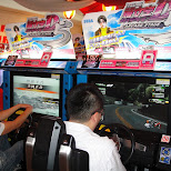 japanese arcades - initial D in Kabukicho, Tokyo, Japan
