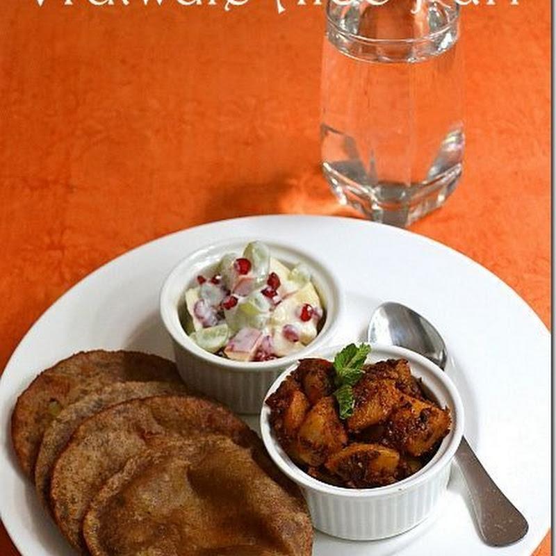Vratwale Aloo Puri | Navratri Vrat Recipes