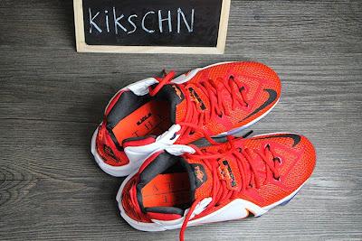 nike lebron 12 gr lion heart 3 08 Upcoming Nike LeBron XII (12) Red / White Lion Heart