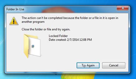 Delete Locked Files and Folders