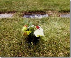 Mom cemetery 2012