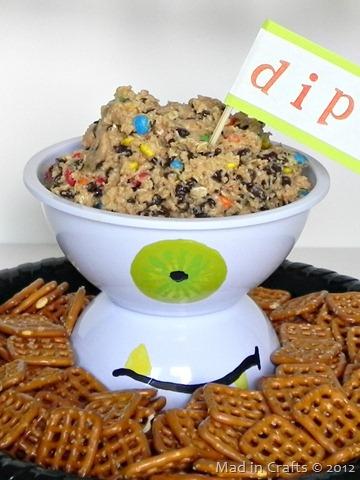 monster pedestal bowl