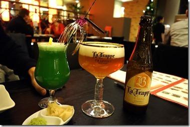 オランダで唯一のトラピストビール La Trappe とノンアルコール・カクテル