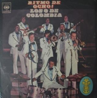 Los 8 De Colombia  Ritmo De Ocho  Folder LP Front