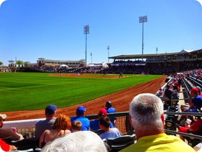 Texans Rangers spring training