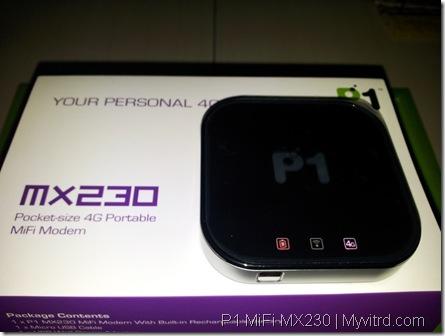 P1 MiFi MX230 h