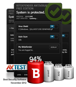 Free BitDefender Antivirus for Windows 8