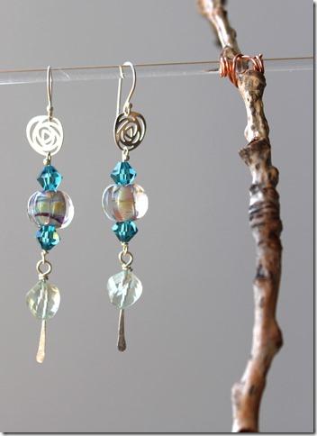 amethyst earrings BSBP 7