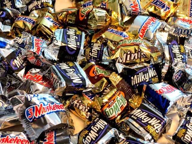 ritz candy bars milky way snickers 3 musketeers
