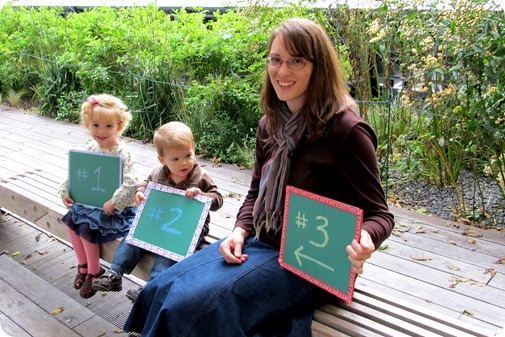The Highline pictures to announce Babies 3 & 4