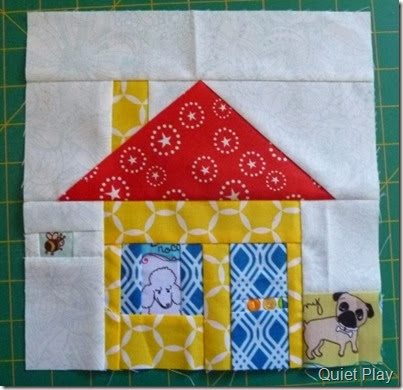 Little Paper Pieced House for Catherine